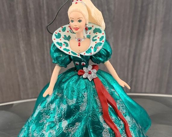 Holiday Barbie 1995 Christmas Ornament by Hallmark and Mattel
