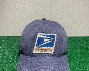 Vintage USPS Postal Service Mens Snapback 80 s Hat 96f84d18f96