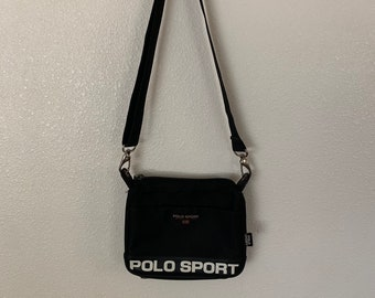 a38942364b2 Vintage Polo Sport Crossbody Messenger 90's Bag