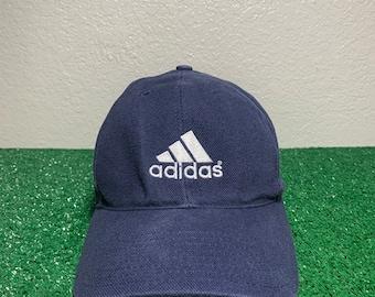 73f7f01cfc1 Vintage Adidas Mens Strapback Hat 90 s
