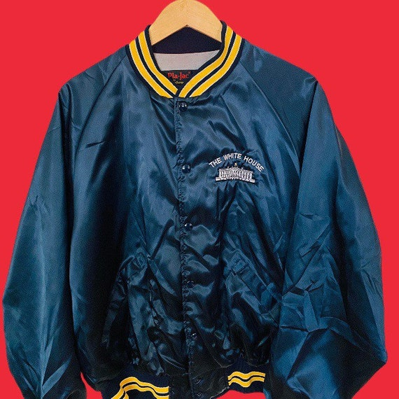 Vintage 80's The White House Varsity Jacket