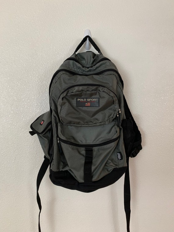 Vintage Polo Sport 90's Backpack