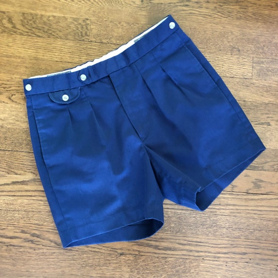 80s 90s Grandpa Pleated Short Shorts / Vintage Tai