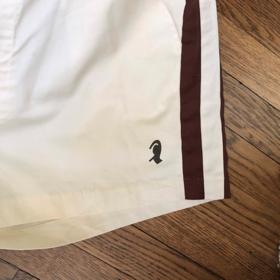 """2.5"""" Inseam 70s Men's Tennis Short Shorts with Si… - image 6"""