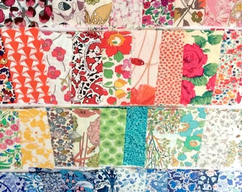 INDIAN SUMMER Fabric Fat Quarter Cotton Craft Quilting Indian Summer Lace