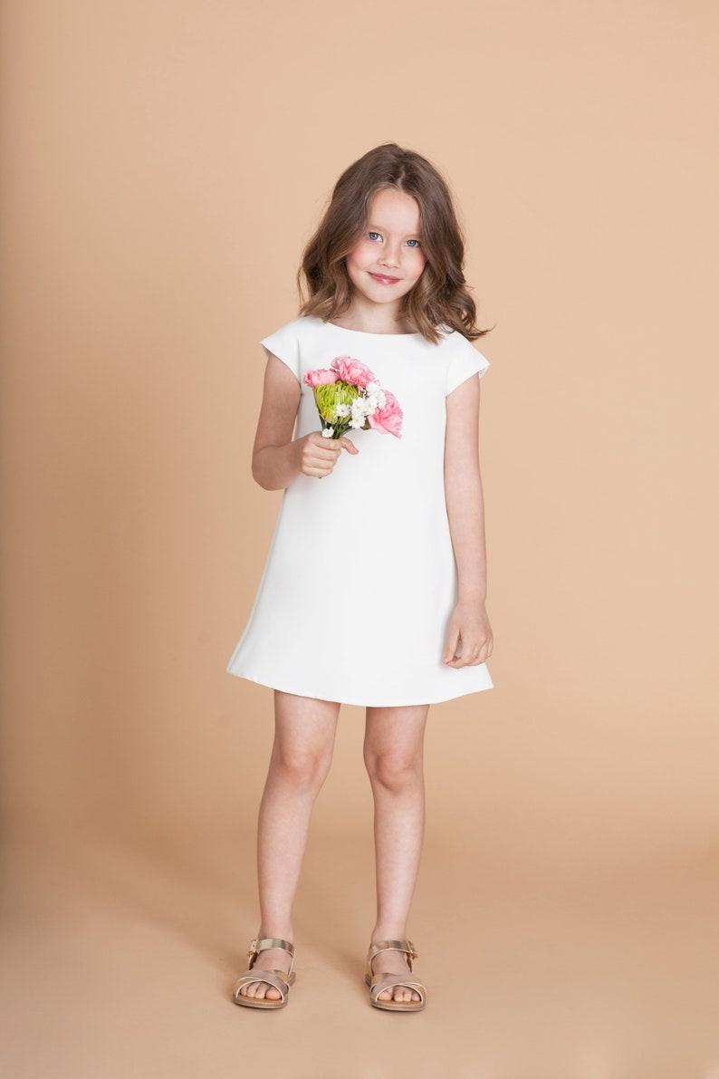 MiniMe Kleid in weiß   Etsy