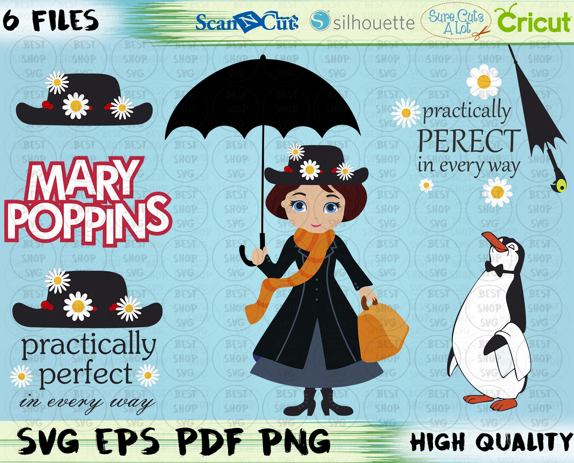 Practically Perfect Svg Mary Poppins Svg Disney Svg – HD Wallpapers