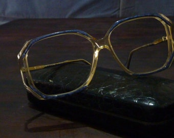 4b2b22f2173 Ladies Neostyle Mondial eyeglasses   Vintage Translucent glasses    Oversized optical frames