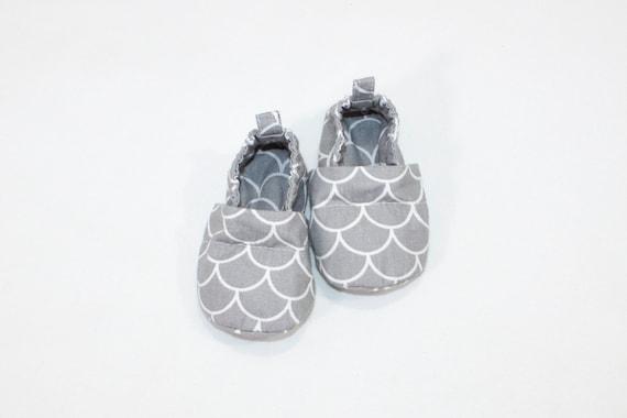 Mermaid booties Walker baby shoes Girls