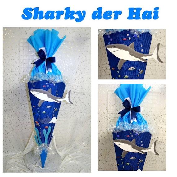 Elegant Schultüte Hai Sharky | Etsy
