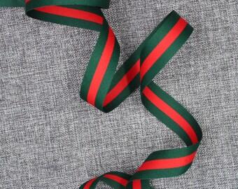 9be2791fb9bdfd Gucci Ribbon 1   Gucci Green   Red Ribbon Gucci Classic Ribbon Gucci  Inspired Ribbon Gucci Ribbon Top Quality High Fashion Ribbon  RB02