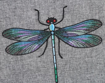 5afee047847994 Gucci Dragonfly Patch Gucci Iron On Patch 10.8   x 8.7   Top-Quality Gucci  Large Embroidery Patch Gucci Embroidery Patch Gucci Design  PC04