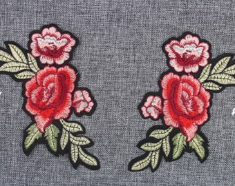 c5a08b4eab1846 Gucci Flower Patch Gucci Flora Iron On Patch 7.5   x 4.3   Top-Quality  Gucci Embroidery Patch Fashion Flower Embroidery Patch  PC14