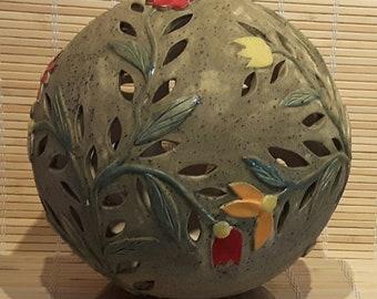 Kugel Lampe Keramik Etsy