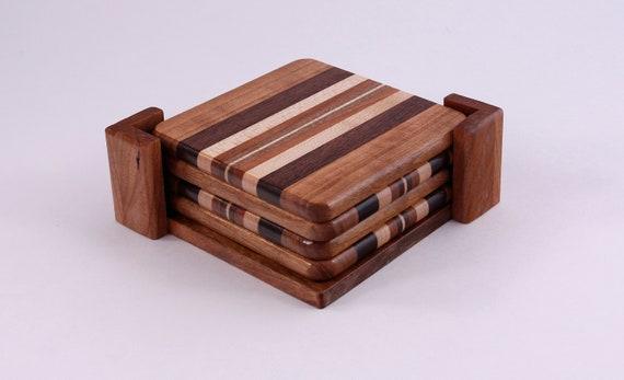 Fibonacci Wood Coasters Wood Coaster Set Wood Coasters With Etsy