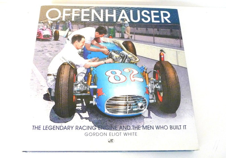 First Edition Offenhauser Legendary Racing Engine Gordon White 1996 Cars