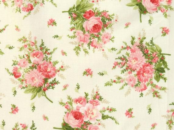 Rosen Bordüre Patchworkstoffe Stoffe Blumen Patchwork Baumwollstoffe Rosenstoffe