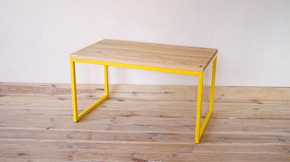 Table basse table basse table basse jaune   Etsy