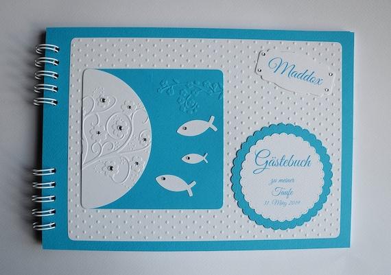 Personalisiertes Gästebuch Fotobuch Kommunion Konfirmation Taufe Firmung Din A4 8