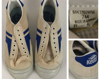 zapatillas keds plateadas 70