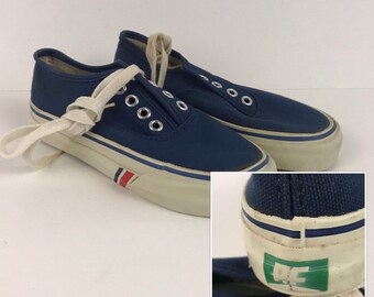 Items similar to converse 80's skidgrip deck shoe vintage