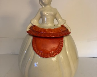 5697a7f90d0 Vintage Pan American Southern Belle Ceramic Cookie Jar
