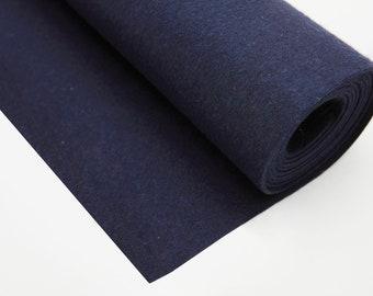 Pure wool felt-dark blue-2 mm