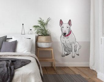 Wandtattoo Hund Etsy