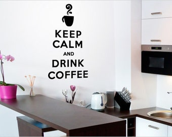 Items similar to Keep Calm and Drink Wine Shadow Box on Etsy