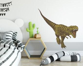 Dinosaurier Wandtattoo Etsy