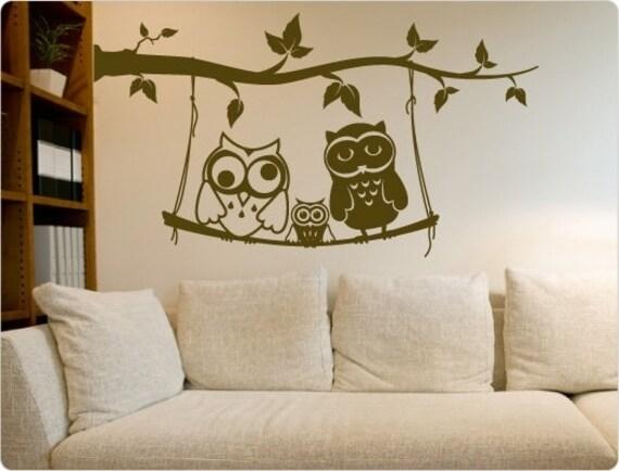 dekodino/® Sticker mural Animaux de la for/êt pastel et animaux de safari d/éco