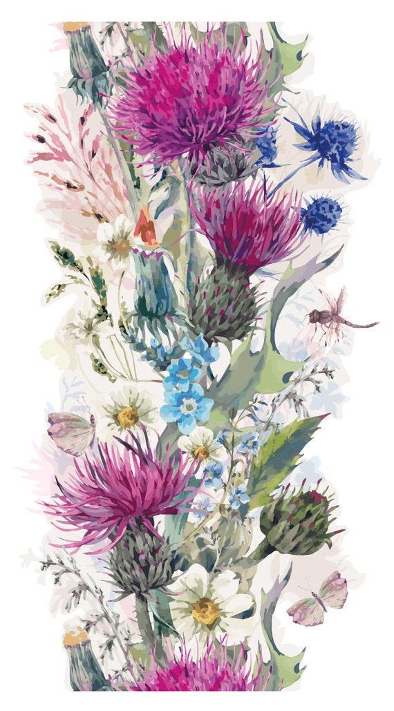 X 2 Personnalisé Rose Aquarelle Anniversaire Bannières Décoration Murale 25TH tout âge