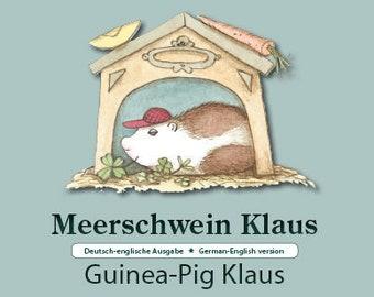 Sea Pig Klaus/Guinea-pig Klaus + 2 hedgehog cards