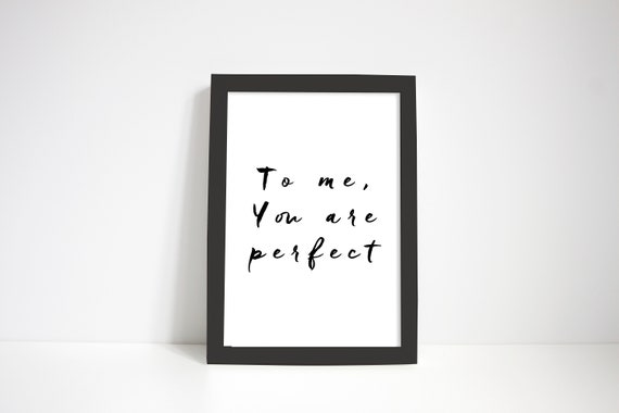 Valentines Day Gifts Movie Quotes Inspirational Framed Etsy