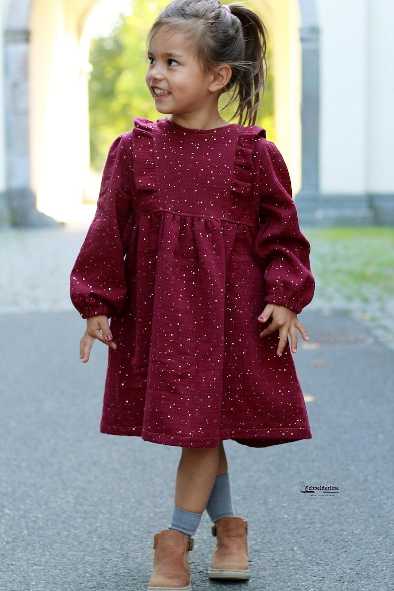 Vintage Dress Gr. 86-164 Top Tunika Kleid im Vintage Stil ...