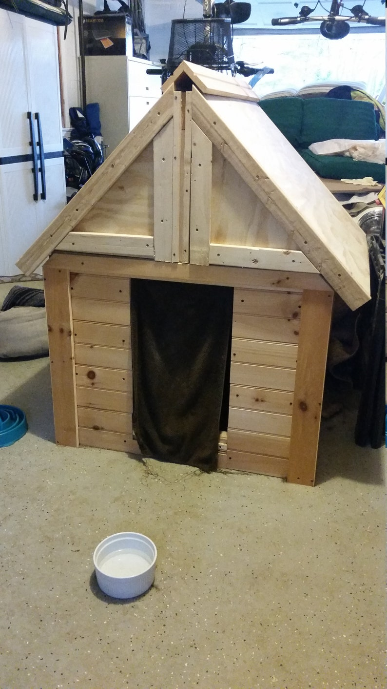 Custom Dog House With Removable Roof Etsy