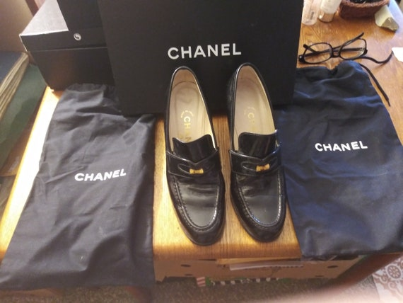 Chanel Penny Loafer Pumps