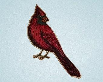 Junk Journal Ephemera, Cardinal, Embellishments, Thinking of You Gift, Best Friend Gift,