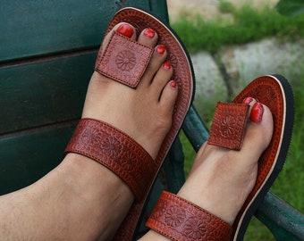 b7b02123b8c4a Women leather sandal | Etsy