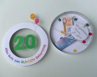 Geldgeschenk 50 Geburtstag Etsy