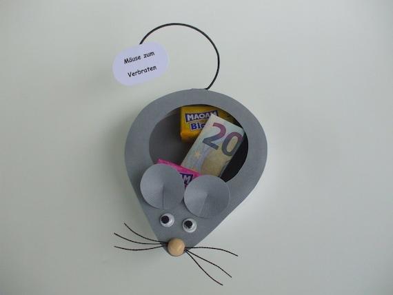 Geldgeschenkbox Mause Zum Verbraten Etsy