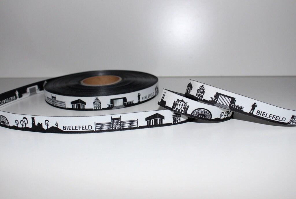 1,45 EUR / / EUR 1 m 10 m BIELEFELD noir - bande Web skyline 639ba0