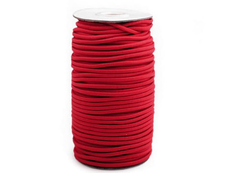 148 0.22 \u20acmeter 50 m rubber cord 3 mm-ROT