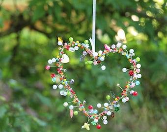 Sparkle heart or sparkle circle