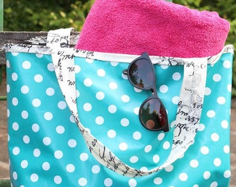 Large pocket made of oilcloth
