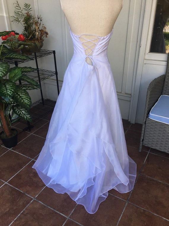 Vintage Wedding Dress by Jessica McClintock for G… - image 2