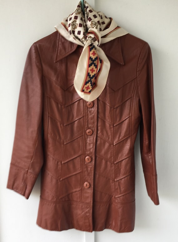 """Vintage Womens 1970's Montgomery Ward """" The Tanner"""