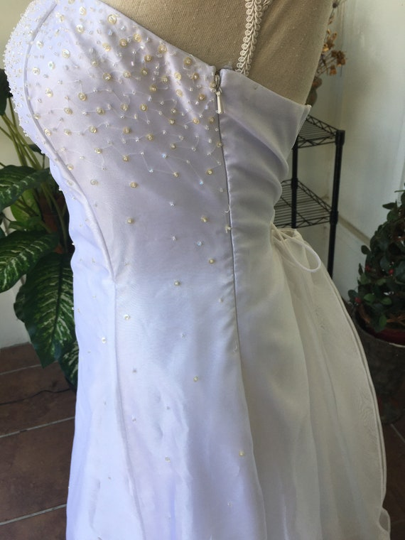 Vintage Wedding Dress by Jessica McClintock for G… - image 3