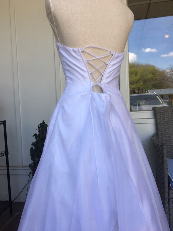 Vintage Wedding Dress by Jessica McClintock for G… - image 6