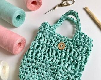 Capsicum Mini Bag · Intermediate Crochet Pattern Booklet · Instant PDF Download · Emmaknitty